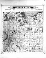 Green Lake  Township, Spicer, Green Lake Beach, Kandiyohi County 1886